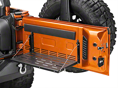 Teraflex Tailgate Table - No Cutting Board (07-18 Jeep Wrangler JK)