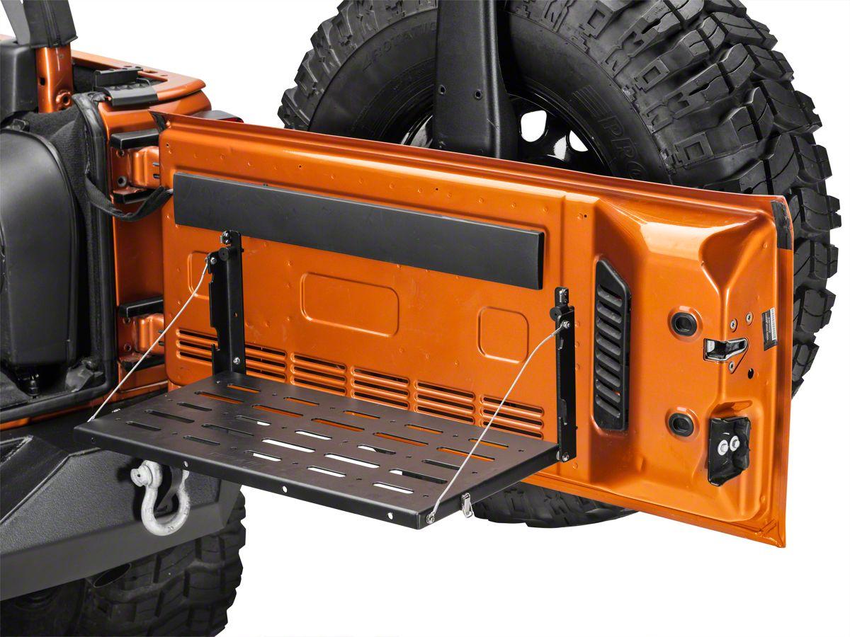 chrysler 08 tailgate wiring harness teraflex jeep wrangler tailgate table no cutting board 4804181  teraflex jeep wrangler tailgate table