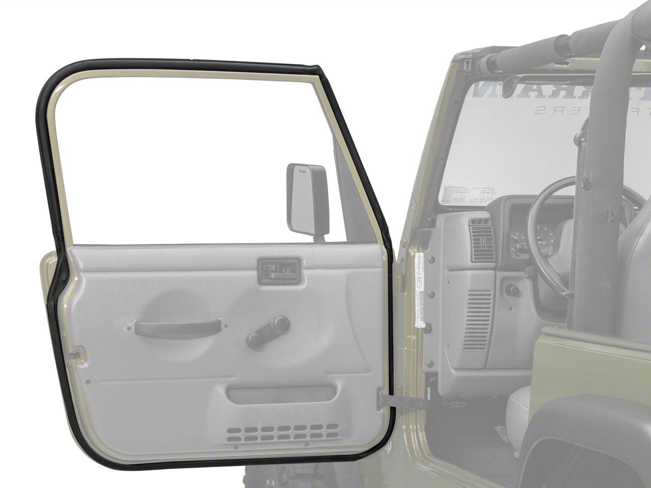 Add Drivers Side Door Seal (97-06 Wrangler TJ)