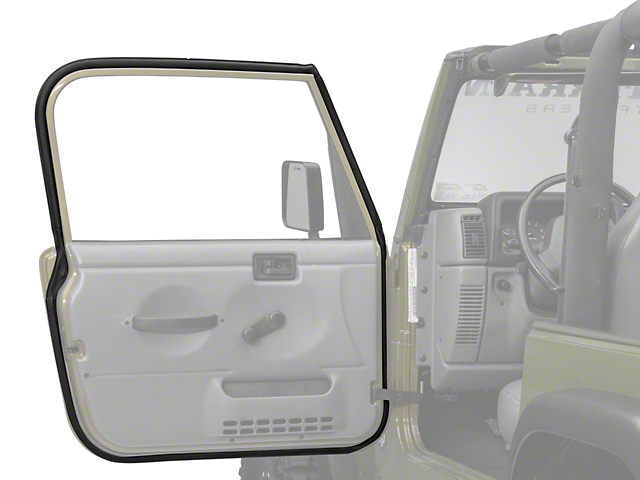 OPR Drivers Side Door Seal (97-06 Jeep Wrangler TJ)