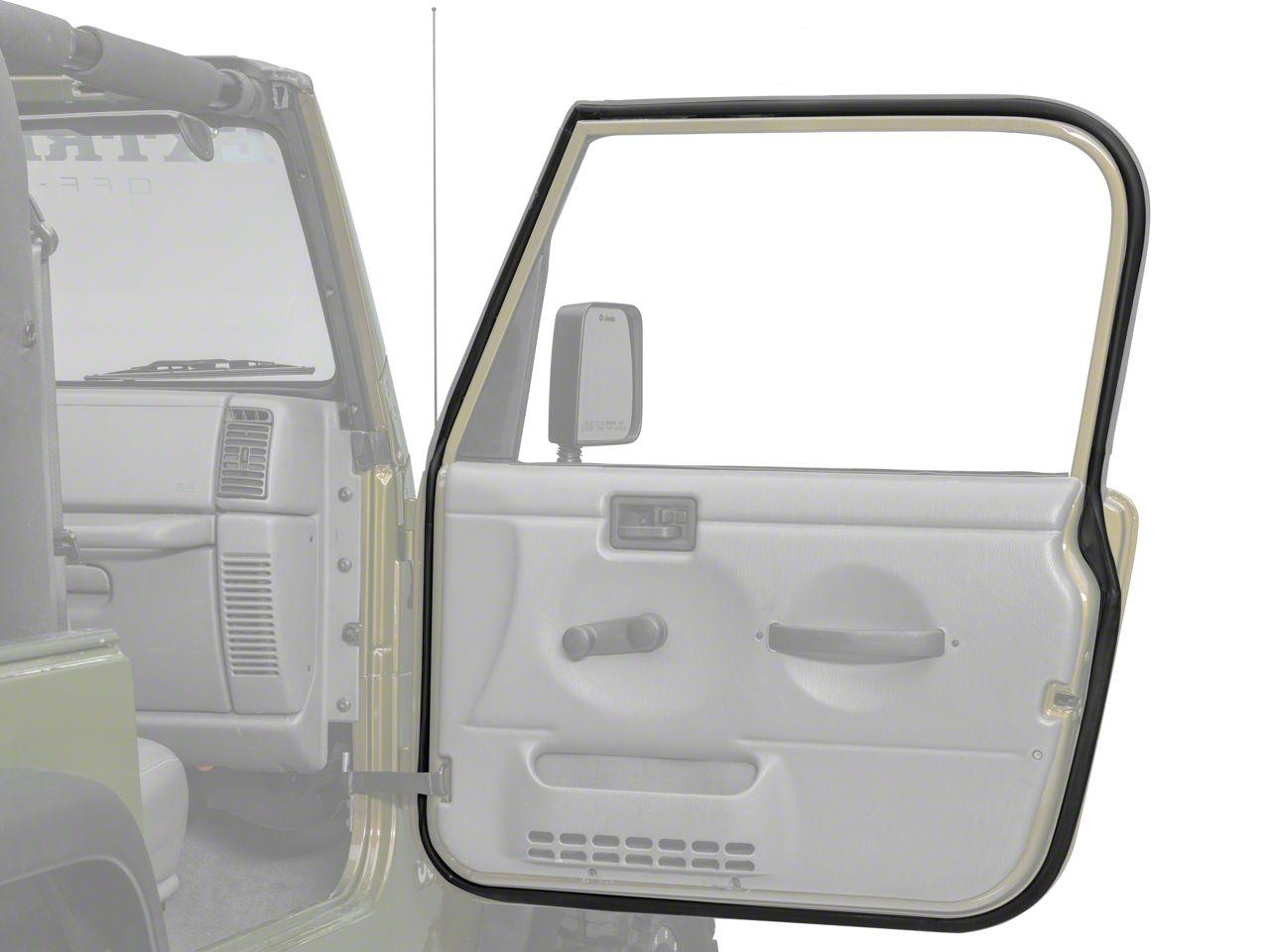 Add Passengers Side Door Seal (97-06 Wrangler TJ)