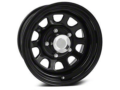 Pro Comp BP Series 52 Steel Black Wheel - 15x8 (07-18 Wrangler JK)