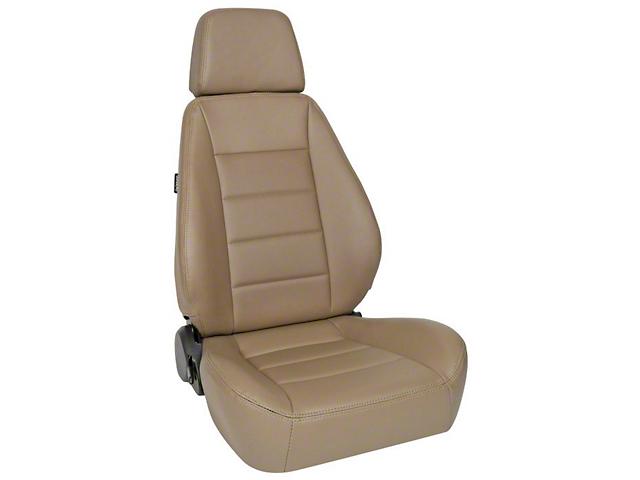 Corbeau Sport Seat; Spice Vinyl; Pair (87-20 Jeep Wrangler YJ, TJ, JK & JL)