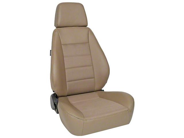 Corbeau Sport Seat - Spice Vinyl/Cloth - Pair (87-18 Jeep Wrangler YJ, TJ, JK & JL)