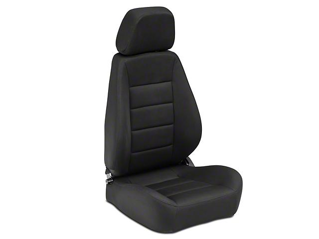 Corbeau Sport Seat - Black Cloth - Pair (87-18 Jeep Wrangler YJ, TJ, JK & JL)