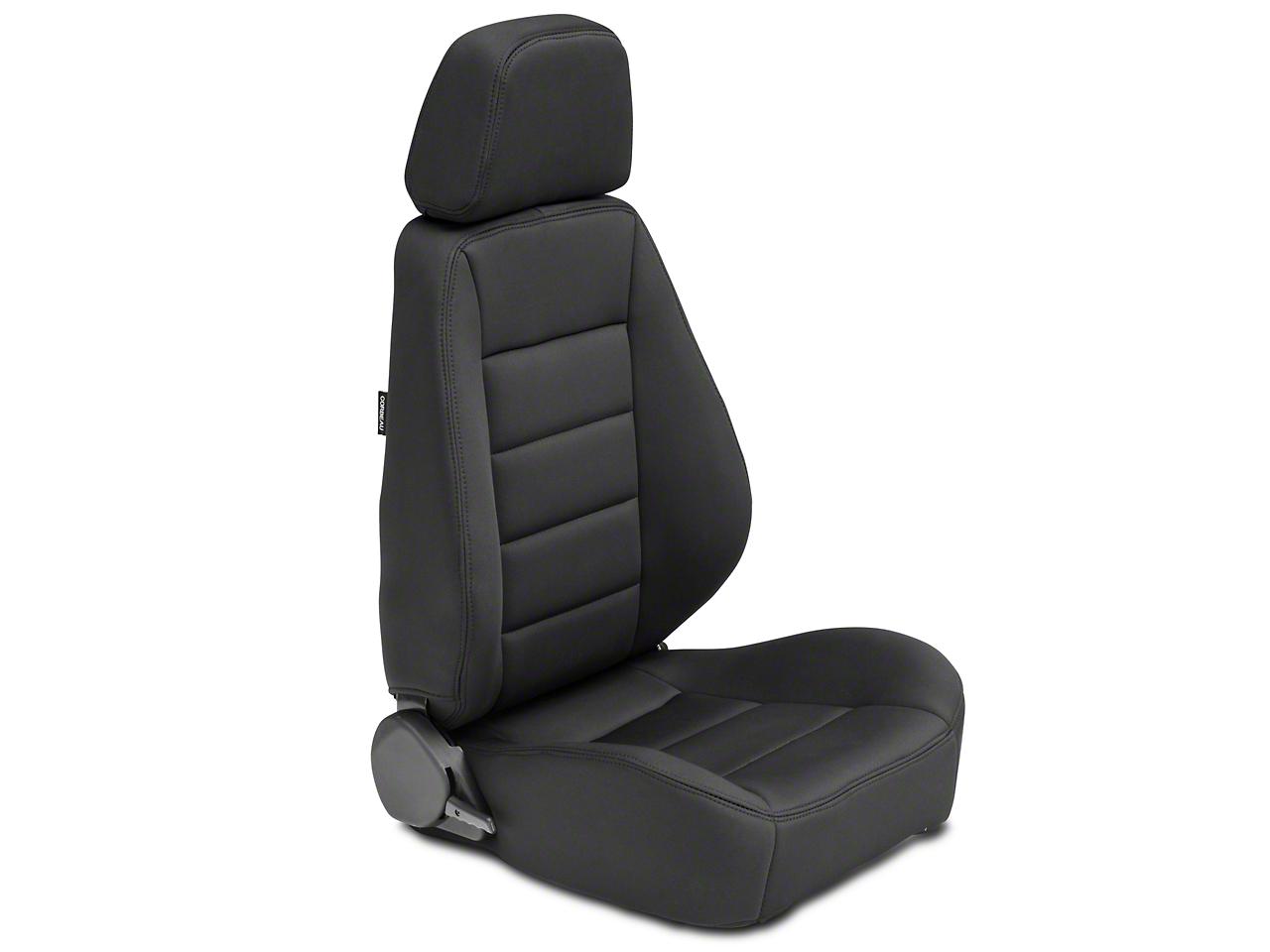 Corbeau Sport Seat - Black Neoprene - Pair (87-18 Wrangler YJ, TJ, JK & JL)