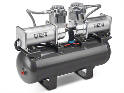 Viair 2 on 2 High Speed Air compressor with Tank (07-11 Jeep Wrangler JK)