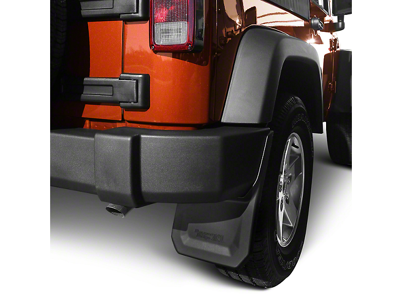 Rugged Ridge Splash Guard Kit - Front & Rear (07-18 Jeep Wrangler JK)