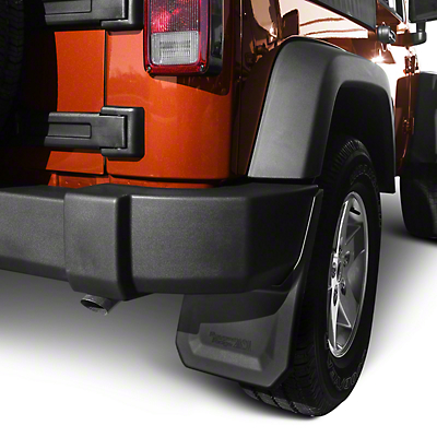 Rugged Ridge Splash Guard Kit - Front & Rear (07-17 Wrangler JK)