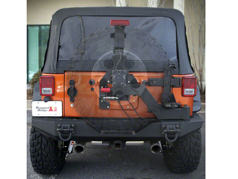 Rugged Ridge XHD Gen II Swing & Lock Tire Carrier (07-18 Jeep Wrangler JK)