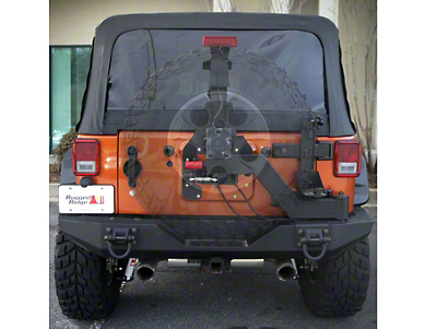 Rugged Ridge XHD Gen II Swing & Lock Tire Carrier (07-18 Wrangler JK)