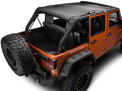 TruShield FullShade Top (07-18 Jeep Wrangler JK 4 Door)