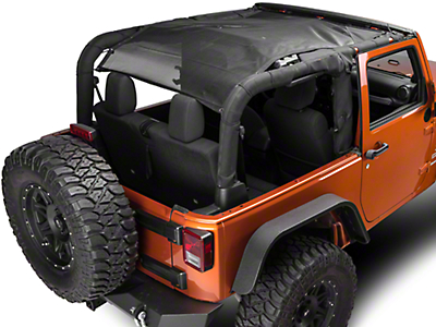 TruShield FullShade Top (07-18 Jeep Wrangler JK 2 Door)