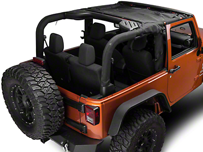 TruShield HalfShade Top (07-18 Jeep Wrangler JK)