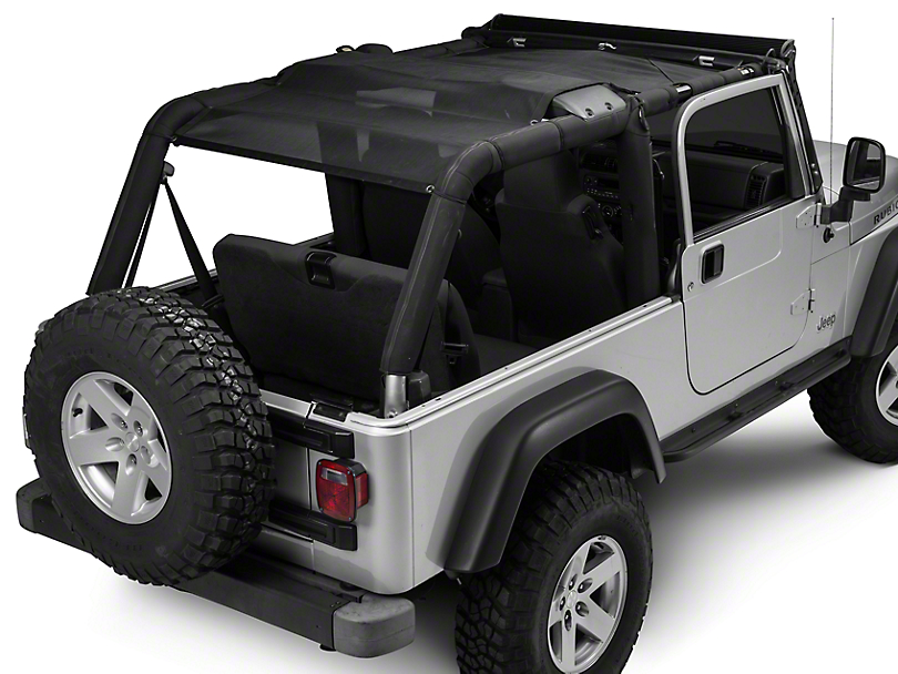 TruShield FullShade Top (04-06 Jeep Wrangler TJ Unlimited)