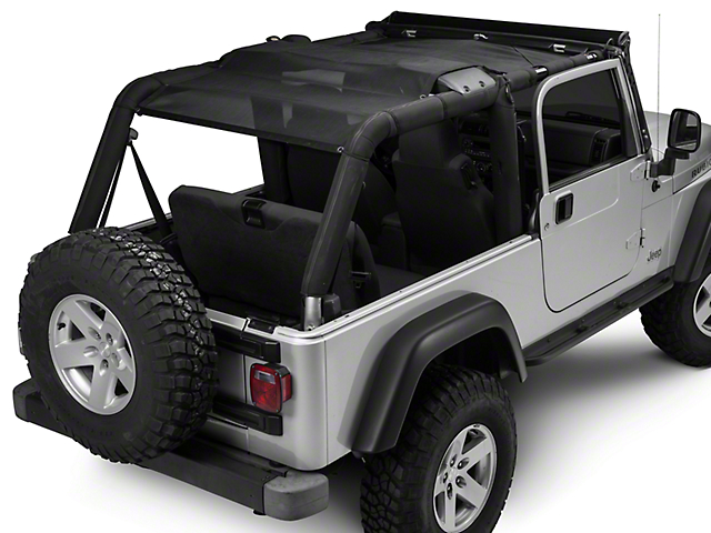 TruShield FullShade Top (04-06 Wrangler TJ Unlimited)