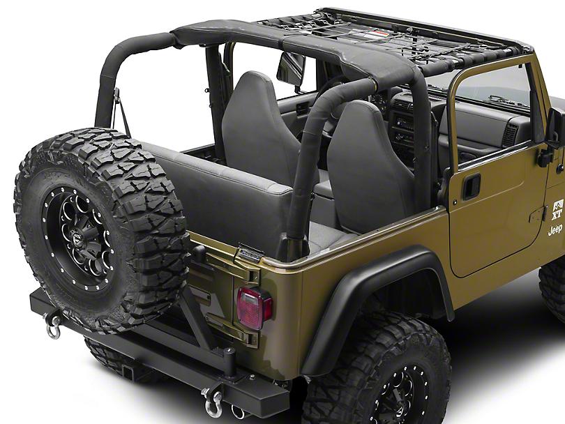 TruShield Front Overhead Net (92-06 Jeep Wrangler YJ & TJ)
