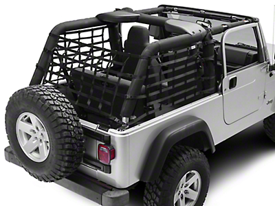 TruShield Wrap Around Net - One Piece (04-06 Wrangler TJ Unlimited)