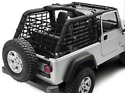 TruShield Cargo Wrap Around Net - One Piece (04-06 Jeep Wrangler TJ Unlimited)