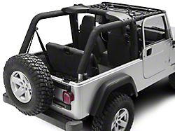 PrimalTech Front Overhead Net (04-06 Jeep Wrangler TJ Unlimited)