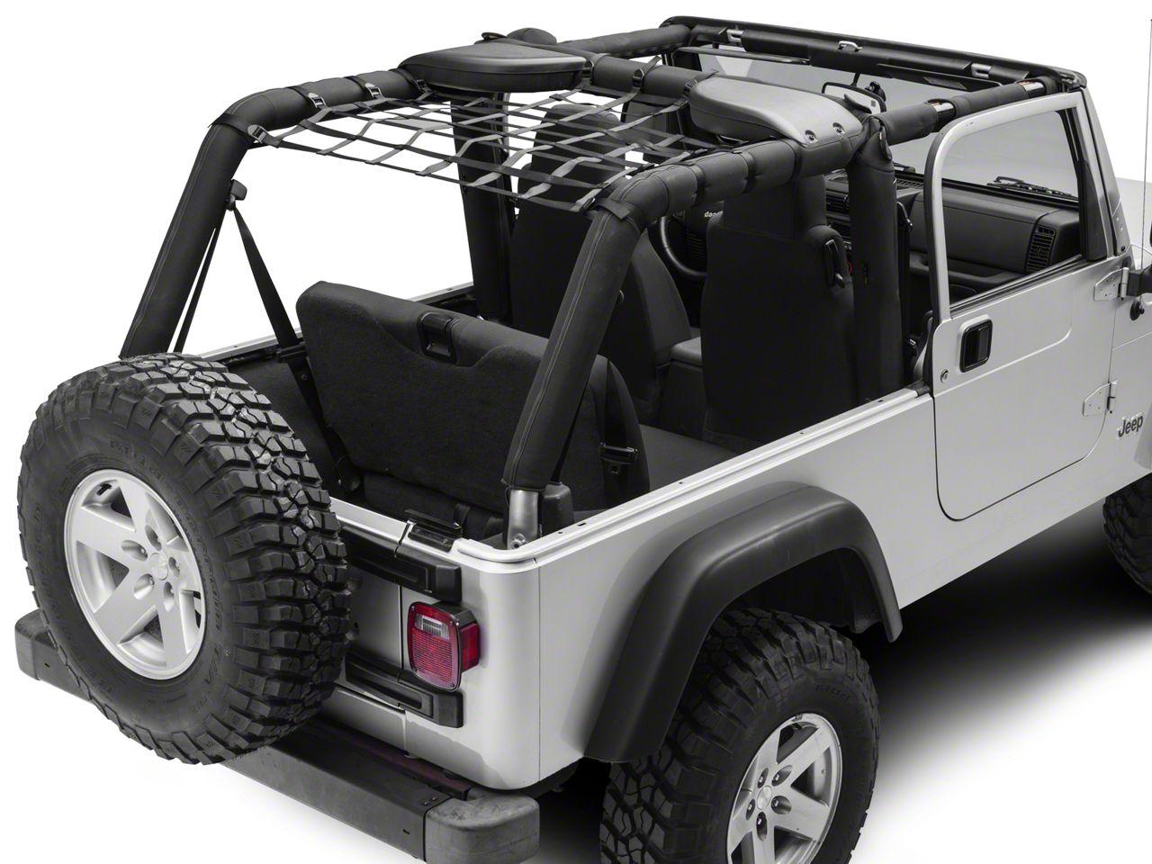 TruShield Rear Overhead Net (04-06 Jeep Wrangler TJ Unlimited)