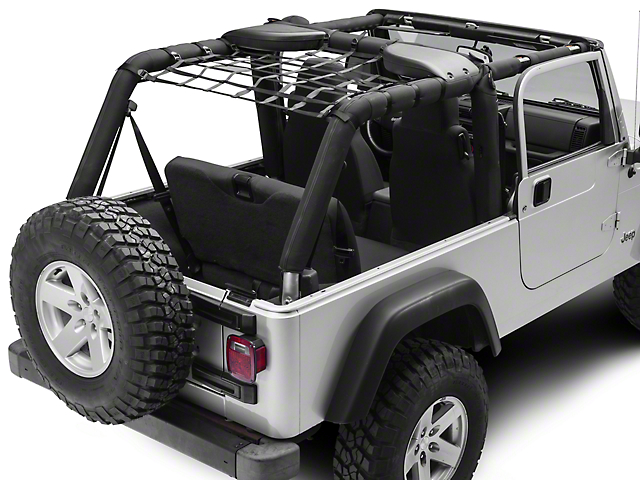 TruShield Rear Overhead Net (04-06 Jeep Wrangler TJ Unlimited)