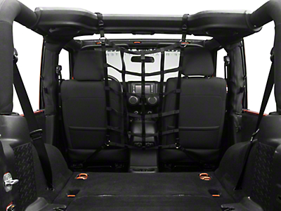 TruShield Pet Barrier Net (07-18 Wrangler JK 2 Door)