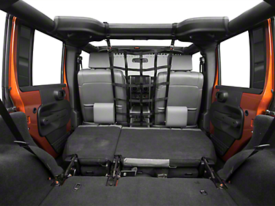 TruShield Pet Barrier Net - Front (07-18 Wrangler JK 4 Door)