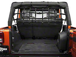 Dirty Dog 4x4 Jeep Wrangler Pet Divider Mounts Behind