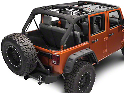 TruShield Rear Overhead Net (07-18 Jeep Wrangler JK 4 Door)