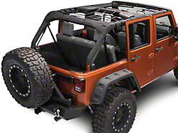 TruShield Rear Overhead Net (07-18 Jeep Wrangler JK 4 Door)