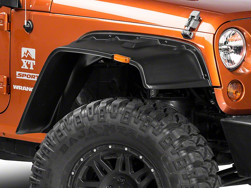 Lund Fender Flares FX - Flat Style 4PC (07-18 Jeep Wrangler JK)