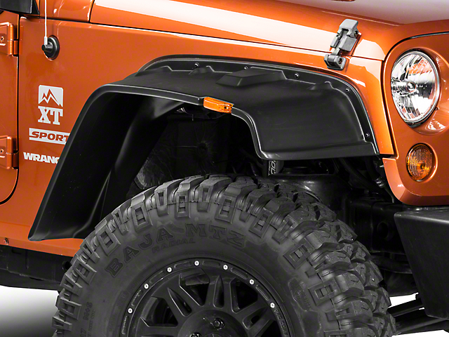 Lund Fender Flares FX - Flat Style 4PC (07-18 Jeep Wrangler JK)