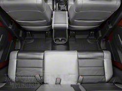 Weathertech DigitalFit Rear Floor Liner - Black (07-13 Jeep Wrangler JK 4 Door)