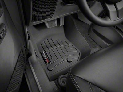 Weathertech DigitalFit Front Floor Liner - Black (14-18 Jeep Wrangler JK)