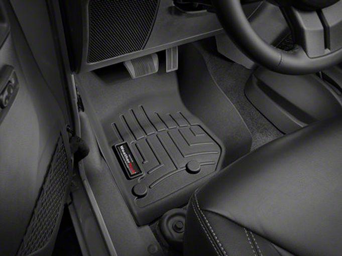 Add Weathertech DigitalFit Front FloorLiner - Black (14-17 Wrangler JK)