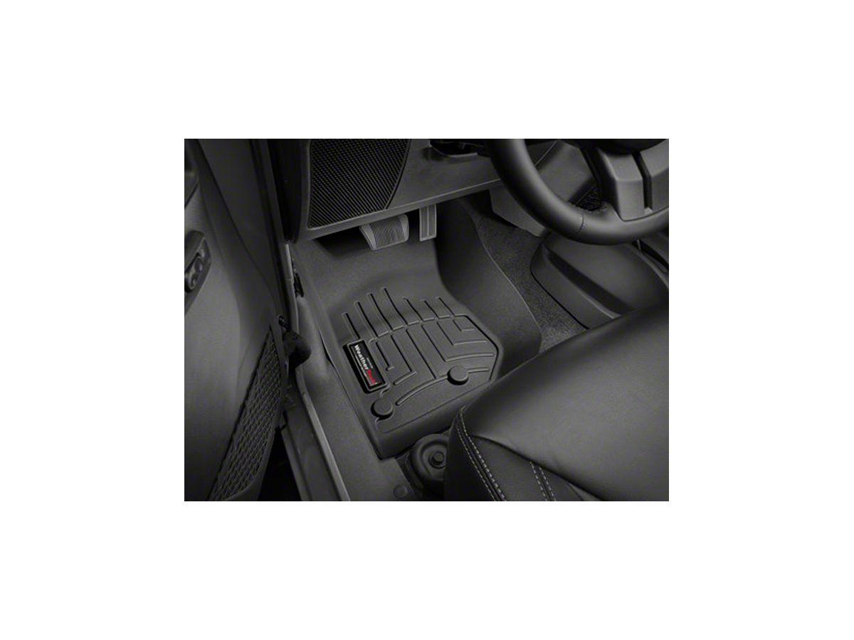 Weathertech Jeep Wrangler Digitalfit Front Floor Liner Black