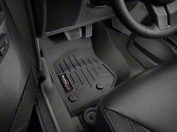 Weathertech DigitalFit Front Floor Liners; Black (14-18 Jeep Wrangler JK)