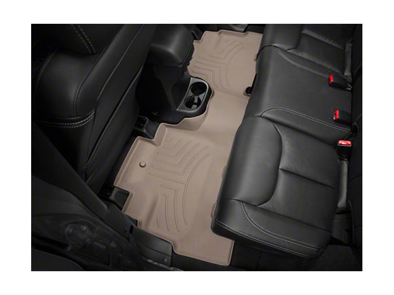 Weathertech DigitalFit Rear Floor Liner - Tan (14-18 Jeep Wrangler JK 4 Door)