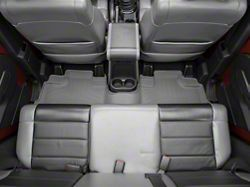 Weathertech DigitalFit Rear Floor Liner - Gray (07-13 Jeep Wrangler JK 4 Door)