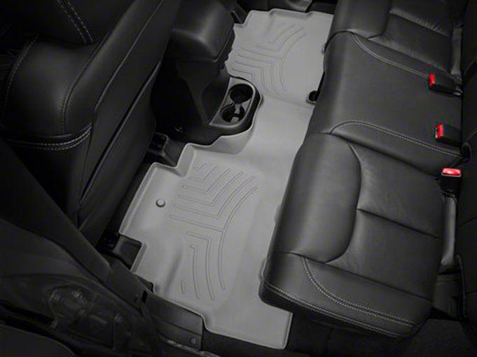 Weathertech DigitalFit Rear Floor Mat - Gray (14-18 Jeep Wrangler JK 4 Door)