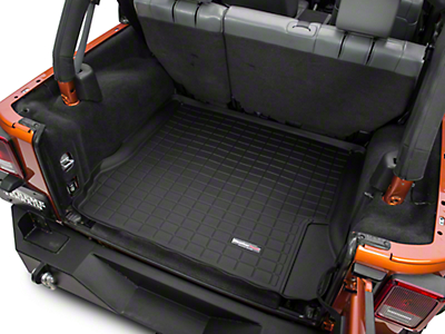 Weathertech DigitalFit Cargo Liner - Black (07-10 Wrangler JK 4 Door)