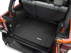 Weathertech DigitalFit Cargo Liner - Black (07-10 Jeep Wrangler JK 4 Door)