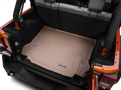 Weathertech DigitalFit Cargo Liner - Tan (11-14 Wrangler JK 4 Door)