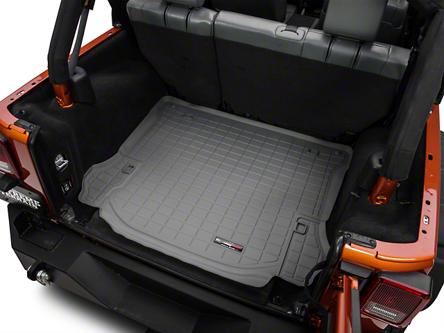Weathertech DigitalFit Cargo Liner; Gray (11-14 Jeep Wrangler JK 4 Door)