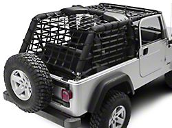 PrimalTech Complete Netting Kit (04-06 Jeep Wrangler TJ Unlimited)