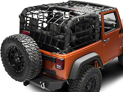 TruShield Complete Netting Kit (07-18 Jeep Wrangler JK 2 Door)