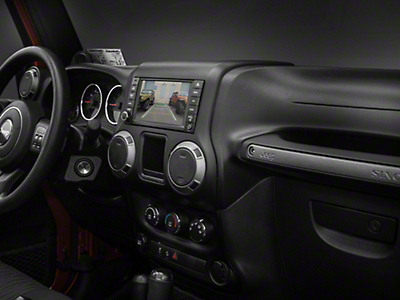 Raxiom OE-Style Navigation w/ Bluetooth & Back-up Camera (07-18 Wrangler JK)