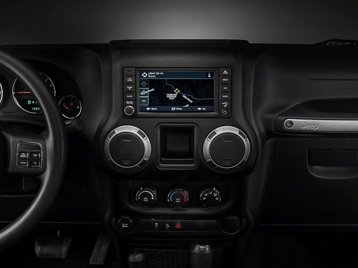 Raxiom Oe Style Navigation W Bluetooth Back Up Camera 07 18 Jeep Wrangler Jk