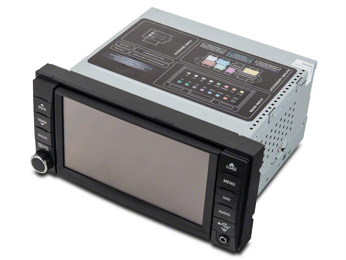 Raxiom OE-Style Navigation w/ Bluetooth & Back-up Camera (07-18 Jeep  Wrangler JK)